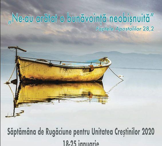 Săptămâna de Rugăciune pentru Unitatea Creștinilor la Onești (18-25 ianuarie 2020)