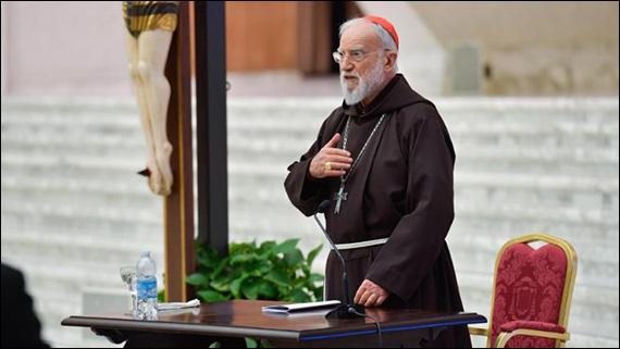 Prima predică de Postul Mare 2021 a card. Raniero Cantalamessa (26 februarie 2021)